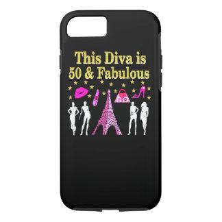 50 AND FABULOUS PARIS DESIGN iPhone 8/7 CASE