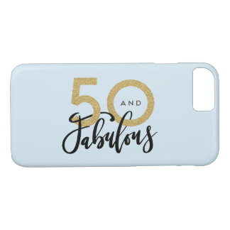 50 and fabulous phone case