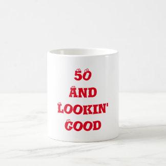 50 And Lookin' Good Eyeballs Birthday Age Coffee Mug