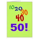 50 and Still Accounting - 50th Birthday Card