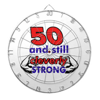 50 and still cleverly strong dartboards