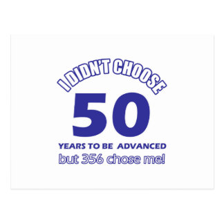 50 años de adelanto postales