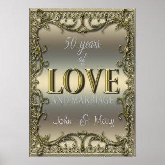 50 años de amor póster