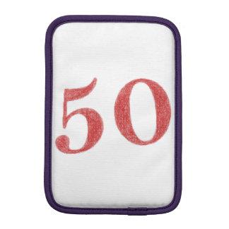 50 años de aniversario funda de iPad mini