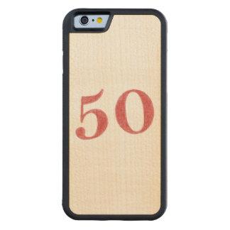 50 años de aniversario funda de iPhone 6 bumper arce