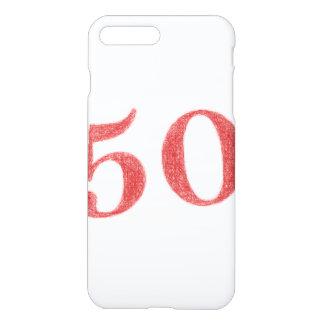 50 años de aniversario funda para iPhone 7 plus