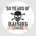 50 años de infierno de aumento etiquetas