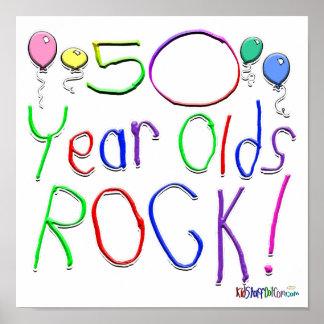 ¡50 años de la roca! posters