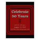 50 años de viejas de la cabra de la celebración in comunicados personales