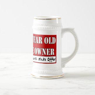 50 años, un dueño - las piezas de las necesidades, taza