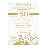 50.as - 59.as invitaciones de la fiesta de cumplea invitacion personal