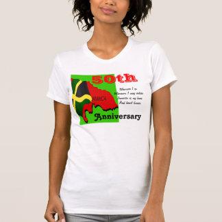 50.as camisetas del aniversario de Jamaica