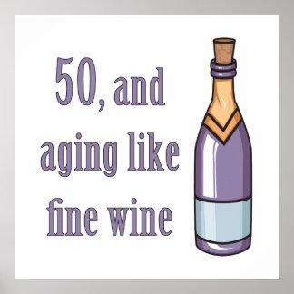 50.as ideas divertidas del regalo de cumpleaños póster