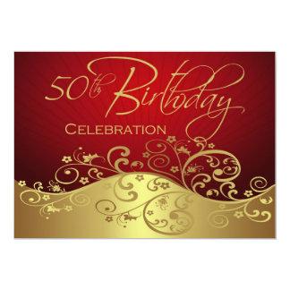 50.as invitaciones personalizadas del rojo y del comunicados personales