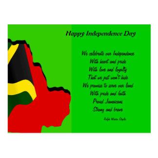 50.as postales del aniversario de Jamaica