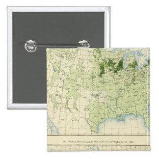 50 Barley 1890 Pin