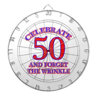 50 Birthday Design Dartboards