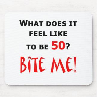 50 Bite Me! Mouse Pad