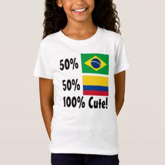 50% Brazilian 50% Colombian 100% Cute T-Shirt