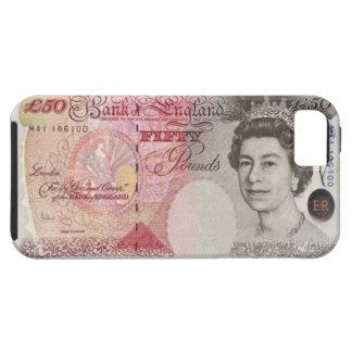 50 British Pound Banknote iPhone 5 Case