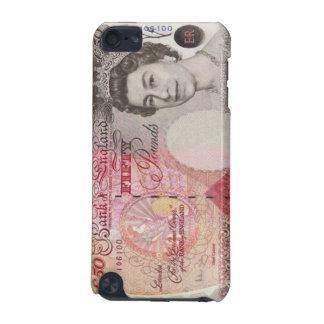 50 British Pound Banknote iPod Touch Case