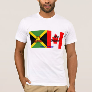 50% Canadian 50% Jamaican Thankfully 0% American S T-Shirt