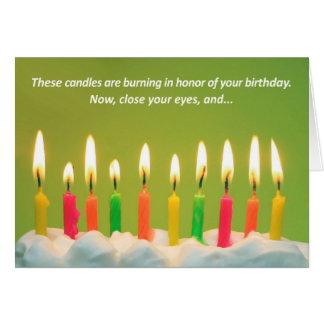 50 Candles 50th Birthday Card