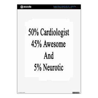 50 Cardiologist 45 Awesome And 5 Neurotic iPad 3 Decals