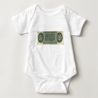 50-Cent Fractional Currency (Spinner bill) Baby Bodysuit