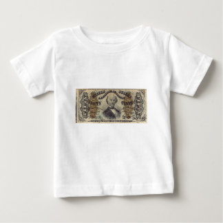 50-Cent Fractional Currency (Spinner bill) Baby T-Shirt