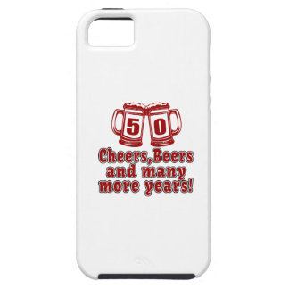50 Cheers Beers Birthday Designs iPhone SE/5/5s Case