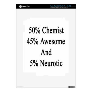 50 Chemist 45 Awesome And 5 Neurotic iPad 3 Skin