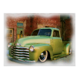 50' Chevy Truck Poster