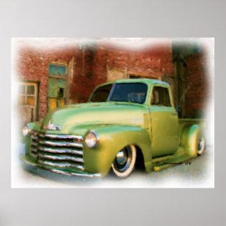50' Chevy Truck Print