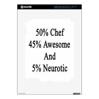 50 cocinero Neurotic.png impresionantes y 5 de 45 Pegatina Skin Para iPad 3