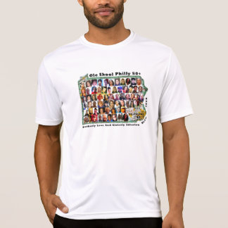 50+ Collage No.2 w/BLASA on Back T Shirt