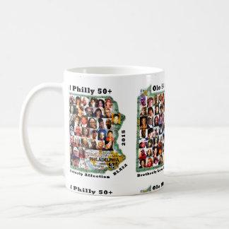 50+ Collage No.3 Classic White Mug
