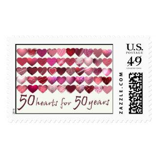50 corazones por 50 años envio