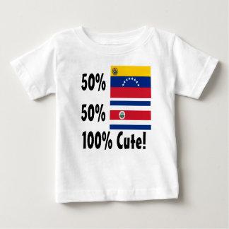 50% Costa Rican 50% Ecuadorian 100% Cute Baby T-Shirt