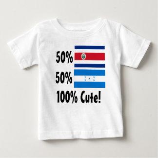 50% Costa Rican 50% Honduran 100% Cute! Baby T-Shirt