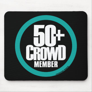 50+ Crowd Mouse Pad
