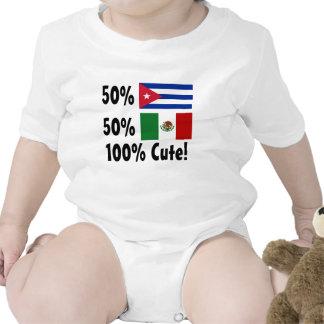 50% Cuban 50% Mexican 100% Cute! Romper