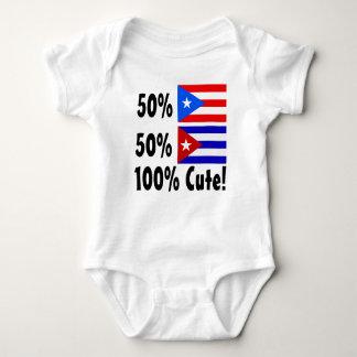 50% Cuban 50% Puerto Rican 100% Cute Tee Shirt
