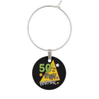 50 cumpleaños del juerguista | de los años 50.o identificador de copa