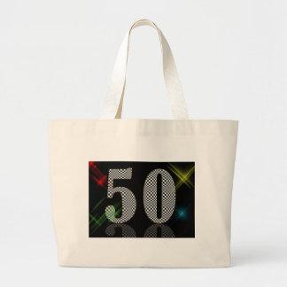 50 Dazzle Large Tote Bag
