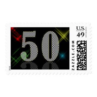 50 Dazzle Stamp