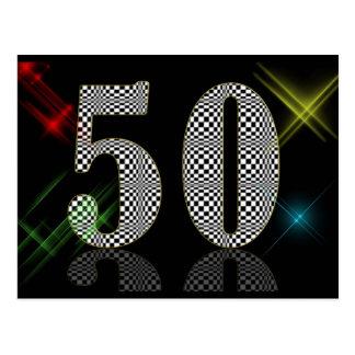 50 Dazzle Post Cards