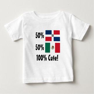 50% Dominican 50% Mexican 100% Cute T-shirt