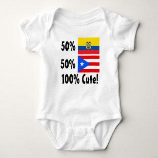50% Ecuadorian 50% Puerto Rico 100% Cute Shirt