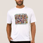 50+ El collage No.3 w/BLASA encendido apoya Camiseta